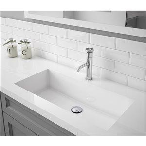 Ancona Nova Series Single Lever Bathroom Faucet in Chrome finish