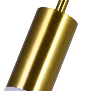 CWI Lighting Pipes Contemporary 1-Light Mini Pendant  -  Brass Finish