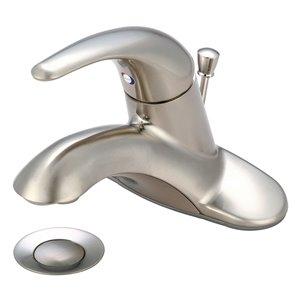 Pioneer Industries Legacy Single-Handle Bathroom Faucet - Brushed Nickel