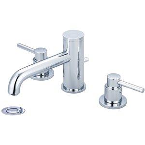 Pioneer Industries Motegi Two-Handle Widespread Bathroom Faucet - Polished Chrome