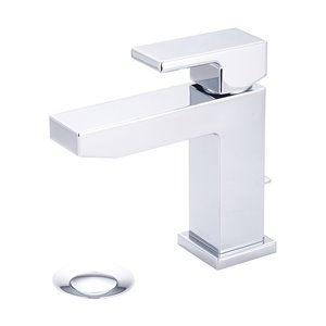 Pioneer Industries MOD Single Rectangular Lever Handle Bathroom Faucet - Polished Chrome