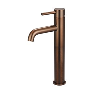 Pioneer Industries Motegi Single-Handle Bathroom Faucet with Bent Nose Spout - Oil Rubbed Bronze