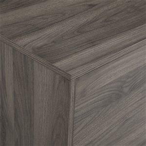 Walker Edison Mid-Century TV Cabinet - 70-in x 24-in - Slate Grey