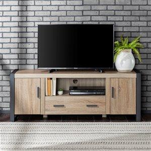 Walker Edison Industrial TV Cabinet - 60-in x 22-in - Grey
