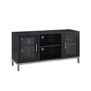 Walker Edison Modern TV Cabinet - 52-in x 26-in - Black