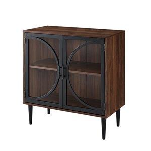 Walker Edison Rustic Storage Cabinet - 30-in x 33-in ...