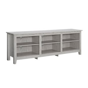 Walker Edison Modern TV Cabinet - 70-in x 24-in - White