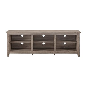 Walker Edison Modern TV Cabinet - 70-in x 24-in - Grey