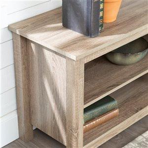 Walker Edison Casual TV Cabinet - 58-in x 24-in - Grey