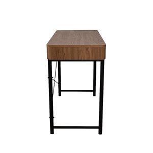 JR Home Collection Maverick Collection Desk - 39-in - Brown/Black
