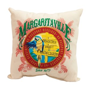 Margaritaville 2-Sided Pillows-Port of Indecision