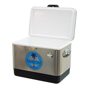 Margaritaville 54 Qt Stainless Steel Cooler-Chill