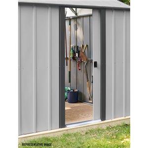 Arrow Murryhill Garage Prefab Storage Shed - 14 ft x 31 ft - Steel