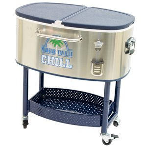 Margaritaville Rolling Oval Stainless Steel Cooler