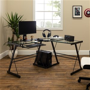 Home Office 51-in L-Shaped Corner Computer Desk - Multi