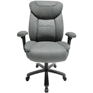 Tygerclaw Big-and-Tall Executive Chair - Gray
