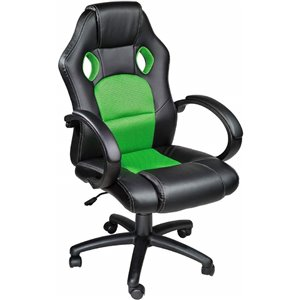 Tygerclaw High-Back Gaming Chair - Green