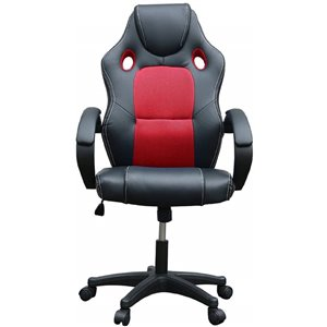 Tygerclaw High-Back Gaming Chair - Red