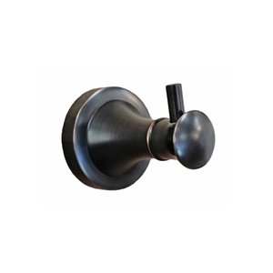 Dyconn Faucet London Series Towel/Robe Hook - 3-in - Oil-Rubbed Bronze