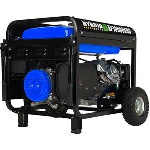 DuroMax Electric Start Dual Fuel Hybrid Portable Generator - 18 HP Engine - 10,000 Watts