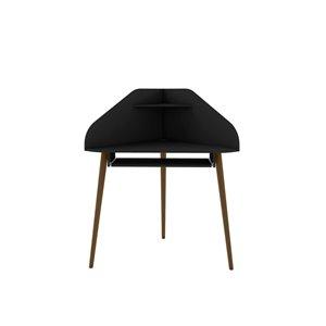 Manhattan Comfort Bradley Corner Desk - 43.98-in - Black