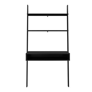 Manhattan Comfort Cooper Ladder Desk - 36.61-in - Black