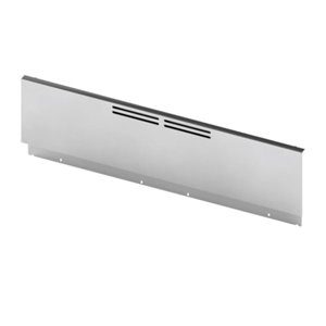 Bosch 9-in Low Back Guard for 30-in Pro Style Range in Stainless Steel