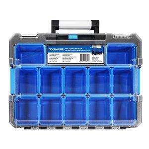 Toolmaster Tool Storage Organizer- Blue and Black