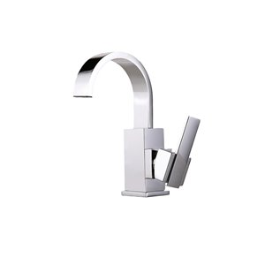 Lukx® Splash Kodi Single-Handle Bathroom Faucet - Chrome