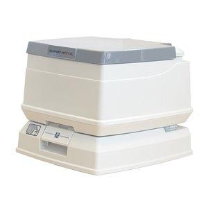Dock Edge Passport SpaceSaver Portable Toilet - 8-L - Grey