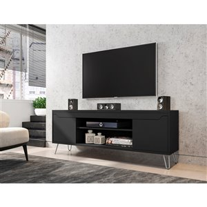 Manhattan Comfort Baxter TV Stand - 62.99-in - Black