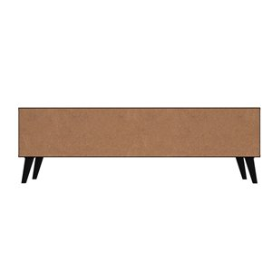 Manhattan Comfort Doyers TV Stand - 62.2-in - Brown, Red and Blue