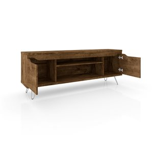 Manhattan Comfort Baxter TV Stand - 62.99-in - Rustic Brown