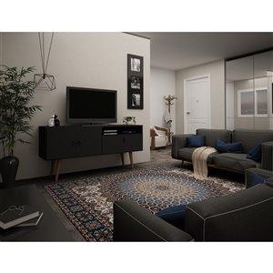 Manhattan Comfort Tribeca TV Stand - 53.94-in - Black