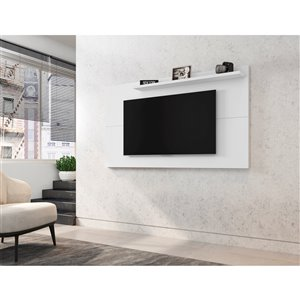 Manhattan Comfort Liberty TV Panel - 62.99-in - White
