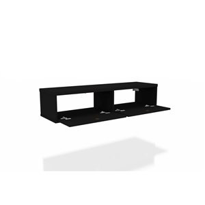 Manhattan Comfort Liberty Floating Entertainment Center - 42.28-in - Black