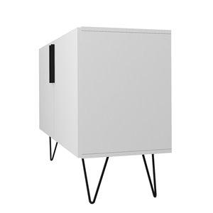 Manhattan Comfort Nolita Double Side Cabinet - 35.43-in x 25.79-in - White