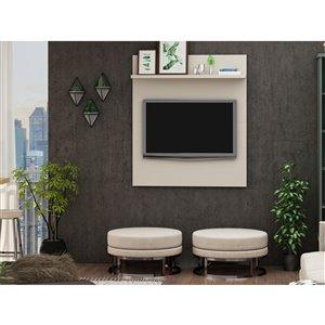 Manhattan Comfort Tribeca TV Panel - 35.43-in - Off-White