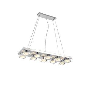 CWI Lighting Paulina Pendant Light - LED Light - 32-in - Chrome