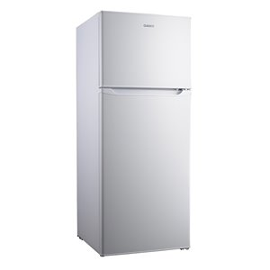Galanz Top Freezer Refrigerator - 7.6-cu ft - 22-in - White