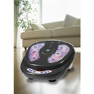 iComfort Infrared Vibration Foot Massager with Wireless Remote - Black