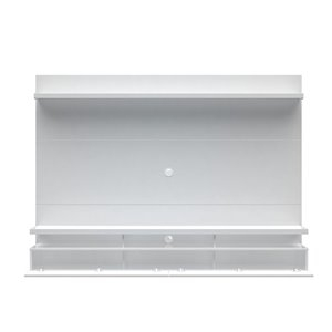 Manhattan Comfort City 2.2 Floating Wall Theater Entertainment Centre - 86.5-in x 63.42-in - Gloss White