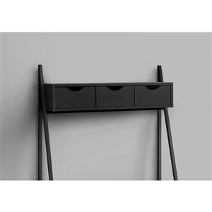 Monarch Specialties Computer Desk Black and Black Metal - 32-in L