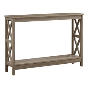 Monarch Specialties Console Table Dark Taupe 48-in L