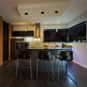 VONN Lighting Tania LED Pendant Light - 5.5-in - Black