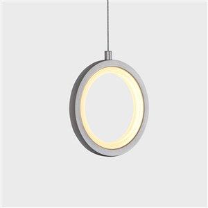 VONN Lighting Tania LED Pendant Light - 5.5-in - Silver
