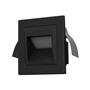 VONN Lighting Outdoor Step Light - LED - 3.5-in - Black