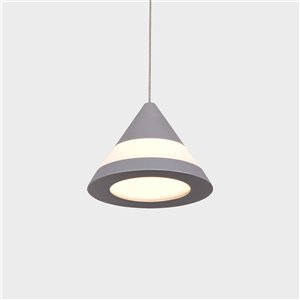 VONN Lighting Procyon LED Pendant Light - 4.75-in - Silver