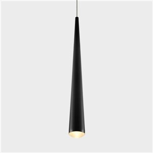 VONN Lighting Polaris LED Pendant Light - 1.75-in - Black