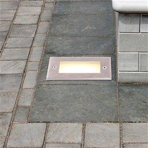 VONN Lighting Outdoor Well Light - LED - 5.5-in - Stainless Steel